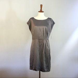 NWT Mossimo Gray Silky Dress
